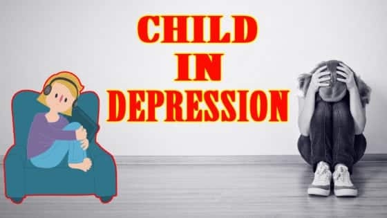 Child depression in hindi